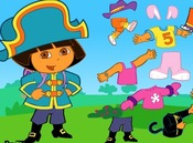Dress-up-spil-med-dora